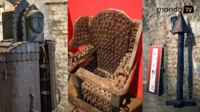 sprave za mučenje, izložba, srednji vek