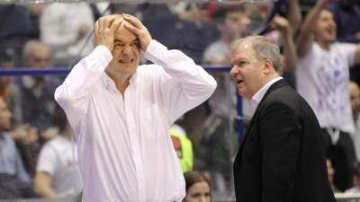Duško Vujošević posle poraza u trećem meču polufinala ABA lige