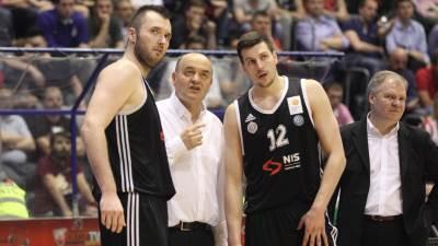 Duško Vujošević trener Partizana Milan Mačvan Dragan Milosavljević