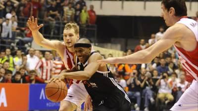 Džoš Akojon Jaka Blažič Partizan Zvezda