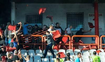 crvena, zvezda, partizan, derbi, navijači, tuča