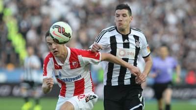 Vukašin Jovanović Petar Grbić 148. večiti derbi Crvena zvezda Partizan