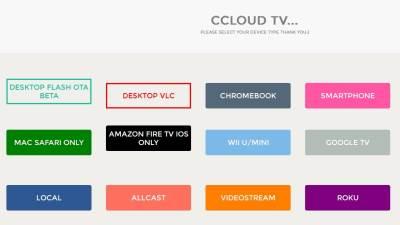 cCloud TV, cCloud