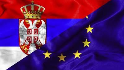 Srbija, EU, zastava, Evropska unija, Srbija i EU