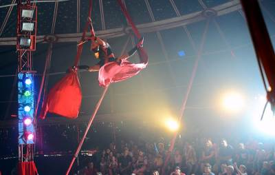 cirkus, medrano, klovn, predstava,
