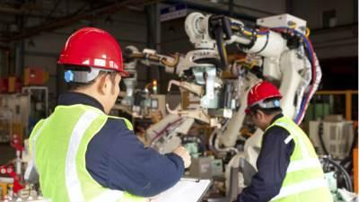 roboto mašina radnici radnik industrija proizvodnja