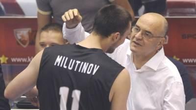Nikola Milutinov Duško Vujošević
