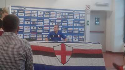 Zlatomir Zagorčić, Sampdoria
