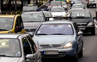 saožbraćaj, automobili, gužva, kola, automobil, ulica