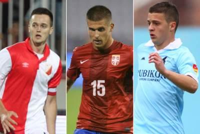 Mihajlovic, Stevanovic, Ivanic, Partizan
