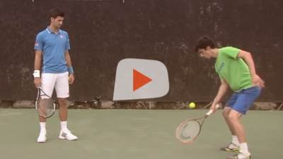 Novak Đoković, tenis, fristajler, zabava, sport