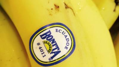 banane, etikete, nalepnice
