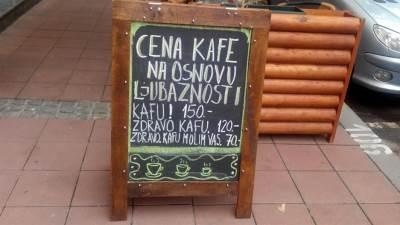 kafić, kafe, kafa, cena kafe, kafe helga, helga
