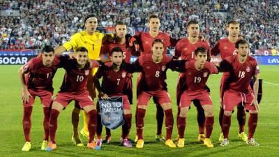 orlovi, fudbalska reprezentacija Srbije