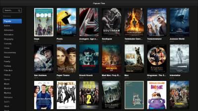 Browser, Browser Popcorn Time, Popcorn TIme