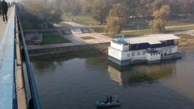 Beograd, Brankov most, rečna policija