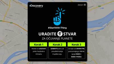 #StartWith1Thing, Discovery Channel, Uradi 1 Stvar