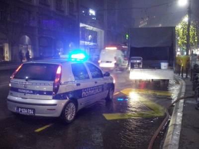 poplava,kolarčeva,policija