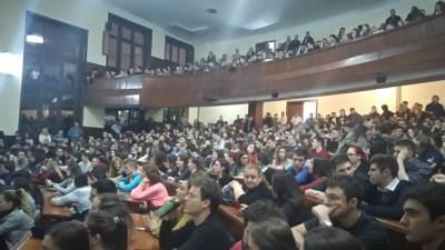 amfiteatar V, studenti, pravni fakultet, fakultet