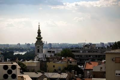 beograd, panorama beograda, grad, saborna crkva,