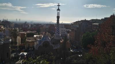 Barselona, Guelj, park Guelj, Gaudi