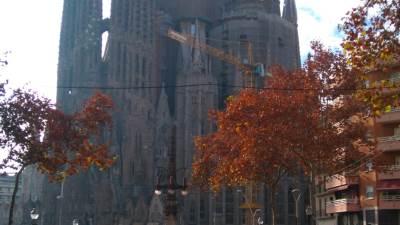 Barselona, Sagrada familija, Sagrada, Gaudi