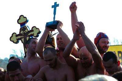 bogojavljenje, plivanje, časni krst, ada ciganlija,