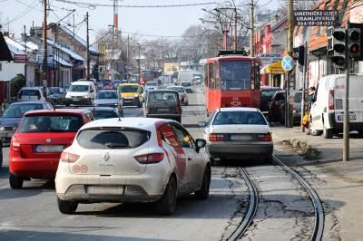 gužva, saobraćaj, automobili, automobil, tramvaj, bulevar kralja aleksandra, zvezdara, ulica, ulice, saobraćaj, beograd, grad