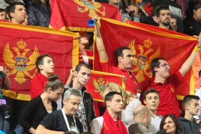 Crna Gora vaterpolo zastava navijači.JPG
