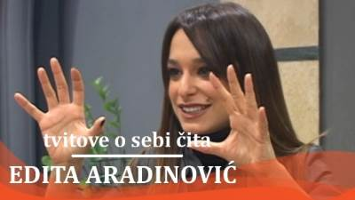 Edita Aradinović, Ministarke, tviter, tvitovi, mondo tv, pevačice