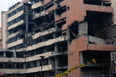 generalštab, obnova generalštaba, beograd, kneza miloša, zgrada generalštaba, bombardovanje