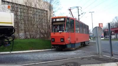 udes tramvaj sudar