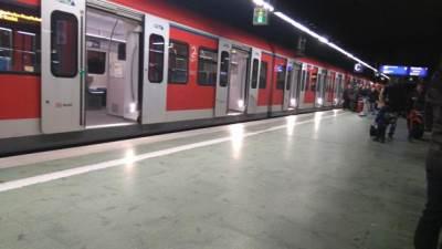 metro voz železnica frankfurt nemačka