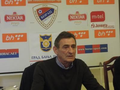 Borče Sredojević, FK Borac