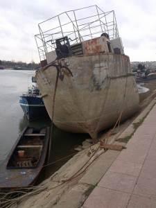 brod sip, savski kej, sava, reka, beograd