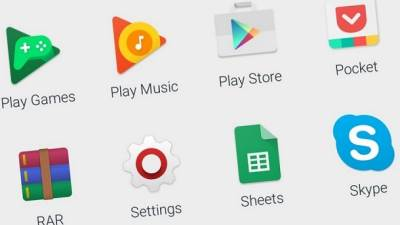 Google Play, Apps, aplikacije
