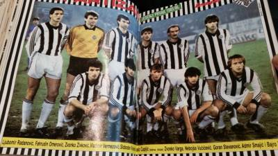Partizan, tim Partizana iz 1985. godine
