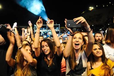 rok na tašu, publika, koncert