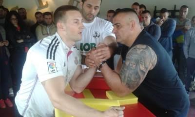 Obaranje ruku - prvenstvo Crne Gore