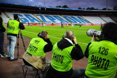 stadion rajko mitić, marakana, gazprom, gasprom, foto, fotografi, fotoreporteri