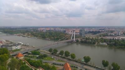 Bratislava, Slovačka, Dunav