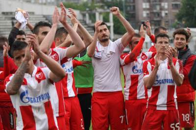 Crvena zvezda, šampion 2015/16, super jelen liga, prvak, osvajač, prvenstvo, fudbal