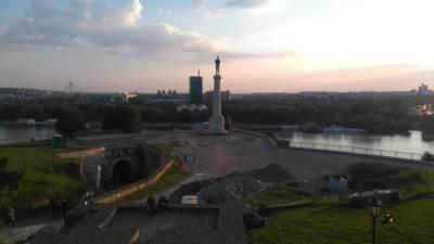 Beograd, Kalemegdan, Kslemegdanska tvrđava, Pobednik, spomenik Pobedniku