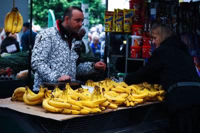 banane, banana, pijaca, voće, južno voće,
