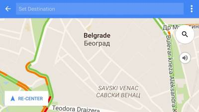 Google Maps, Google mape, mape,