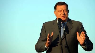 Milorad Dodik, padobranstvo, otvaranje