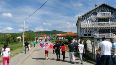 gračanica, kosovo, navijači