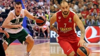 Dimitris Dijamantidis, Dimitris Diamantidis, Vasilis Spanulis, Vasilis Spanoulis
