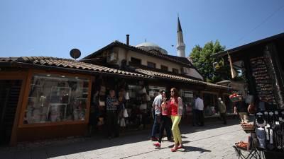 sahat kula, sarajevo, begova džamija, valter
