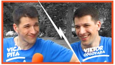 Viktor Savić, autointervju, mondo tv